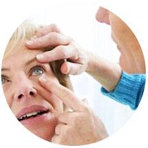 изъятие инородного тела роговицы глаза