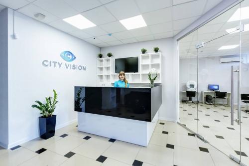 Ресепшн CITY VISION